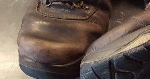 Gute Schuhe beim Gassi - Zehenkappe